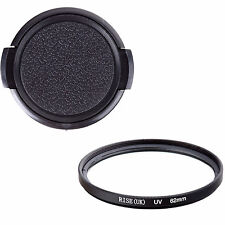 62MM UV Filter+Cap for Canon Nikon Sony Tamron 18-250mm 18-270mm 70-300mm 62mm