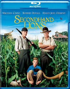 Secondhand Lions [Blu-ray] [Blu-ray] - DVD - Free Shipping. - New