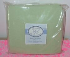 Koala Baby Knit Solid Green Fitted Crib Sheet