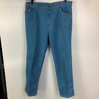 Vintage 70's Levi's Orange Tab Skosh More Room Blue Jeans Mens USA Made 40 X 30