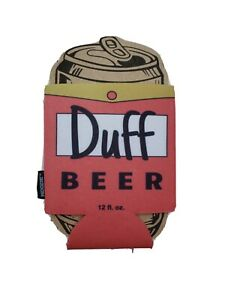 Funny Duff Beer Homer Simpsons Can Koozie Gift Coozie Dad Stocking Stuffer