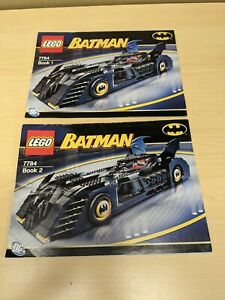 LEGO Batman7784 The Batmobile: Ultimate Collectors' Edition INSTRUCTIONS ONLY
