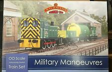 RARE Bachmann 30-130 Military Manoeuvres OO Gauge Electric Train Set NEW
