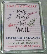 PINK FLOYD 1981 RIVERFRONT STADIUM THE WALL POSTER LARGE ACRYLIC FRIDGE MAGNET