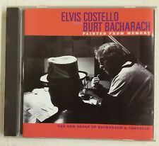 Elvis Costello with Burt Bacharach Painted From Memory CD UK 1998