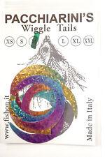 Paolo Pacchiarini´s Wiggle Tails medium Halbmondform HOLO RAINBOW