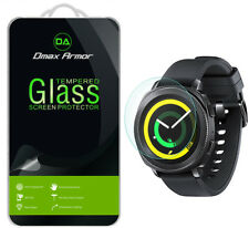 [2-Pack] Dmax Armor Samsung Gear Sport Tempered Glass Screen Protector