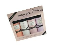 Miss So...? London Body Fragrance Parfum Scented Spray 4 x 50ml Gift Set Boxed