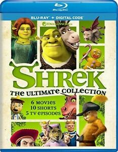 Shrek: The Ultimate Collection [New Blu-ray] Boxed Set