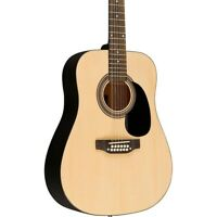 Rogue RA-090 Dreadnought 12-String Acoustic Guitar Natural