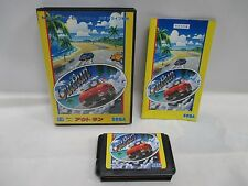 Mega-Drive Genesis -- OutRun -- Box. JAPAN Game Sega. Clean & Work fully!! 11551