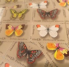 10 Butterfly Stamps For Holiday, Wedding And Valentine Mail