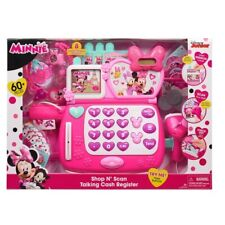 Minnie Mouse Shop N Scan Talking Cash Register With Sounds