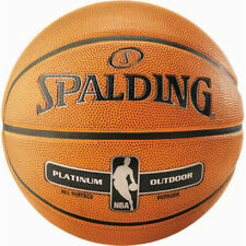 Spalding NBA Platinum Outdoor Basketball Ball - Orange, Size 7