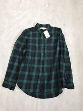 Womens Fashion H&M L.O.G.G Shirt UK 6 Blue/Green BNWT 7/7 K