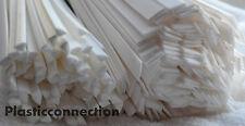 PP Saldatura plastica bacchette misto 4mm triangolare+8mm piatto bianco,