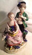 "Antique German Figurine ""Kids with Goat"""