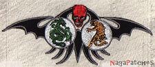 Ecusson brodé patche Tigre et dragon transfert thermocollant patch