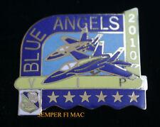 2010 VIP US NAVY BLUE ANGELS MARINES PIN BLUE ANGEL F18