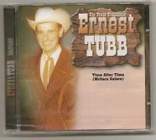 """ERNEST TUBB, CD """"TIME AFTER TIME"""" NEW SEALED"""