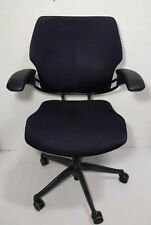 Humanscale Freedom Ergonomic Office Task Arm Chair Swiveladjustablerolling Blk