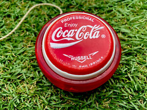 Coca Cola Professional Russell Yo Yo-1970's-Made in Philippines-Has wear-Awesome
