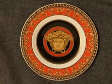 Versace by Rosenthal MEDUSA RED Round Plate Plate
