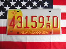US Auto Car NEW MEXICO TRUCK 59 Plate KENNZEICHEN NUMMERNSCHILD Schild Deko USA