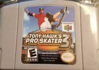 Tony Hawk's Pro Skater 3 For 64 Bit - USA Version NTSC Card