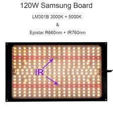 Samsung LM301B 3000K 5000K 660nm 760nm PCBA Board 120Watt LED Plant Grow Lights