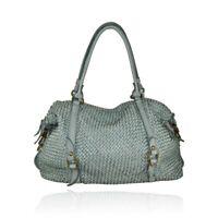 BZNA Bag Osana Blau Shopper Tasche Schultertasche Handtasche Designer Leder