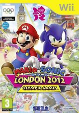MARIO AND SONIC AT THE LONDON 2012 OLYMPIC GAMES Nintendo Wii UK Rel New Sealed