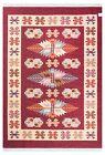 "Turkish Kilim Tapestry Reversible Multi-Color Decorative Area Rug 5'3"" x 7'6"""