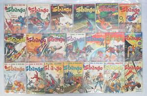 Lot 20 Strange French Magazine Marvel Comics Issues 101-120 Lug Super Heros 1978