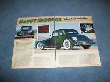 """1933 Ford 5-Window Coupe Custom Hot Rod Article """"Happy Endings"""""""