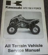 2004 2009 kawasaki kfx 700 kfx700 v force ksv700 repair service manual motorcycle pdf