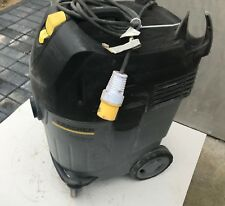 More details for 3x karcher nt 45/1 eco vacuum cleaner grey 110v with new filter