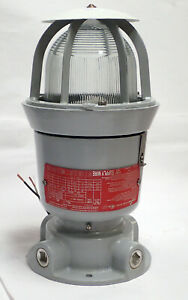 COOPER CROUSE-HINDS EVI301 EXPLOSION PROOF INCANDESCENT LUMINAIRE FIXTURE TESTED