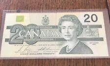Bank Of Canada 1991 $20 Twenty Dollar Bill - AVE - Great Condition