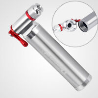 Bike Bicycle Pump CO2 Aluminum Alloy Inflator Cycling Tire For Presta/Schrader
