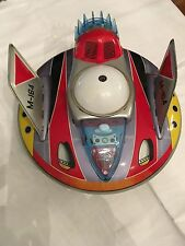 Vintage Yonezawa M-164 UFO Battery Operated Spaceship Tin Toy -Made in Japan '60