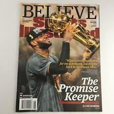 Sports Illustrated Magazine June 27 2016 LeBron James Promise Keeper No Label NM
