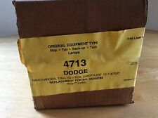 NOS 4713 - 87 Up DODGE STOP TURN BACK UP TURN LAMP - Right 55054788 New old stoc