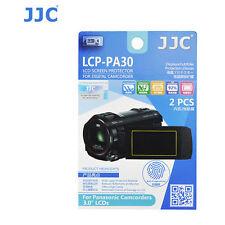 JJC LCP-PA30 ultra hard polycarbonate LCD Screen Protector Panasonic Camcorder 3
