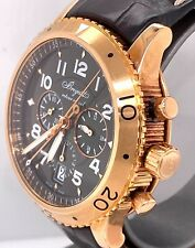 Breguet Type XXI TRANSATLANTIQUE FLYBACK 18K Rose Gold 42mm Watch 3810br/92/9zu