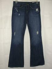 GAP Jeans Women's Size 28/6 Sexy Boot Cut Destructed Dark 5-pocket Distressed