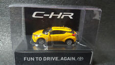 TOYOTA CHR LED Light Keychain Yellow PullBack Mini Car JAPAN Not Sold in stores