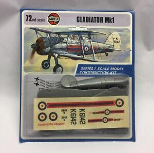 ** AIRFIX - 1/72 - GLADIATOR Mk1