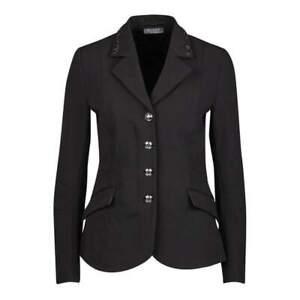 Dublin® Black Ladies' Ella Competition Jacket NEW SF1008