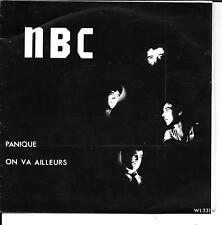 """45 TOURS / 7"""" SINGLE--NBC-PANIQUE / ON VA AILLEURS (JEAN PIERRE LAGRANGE)--RARE"""